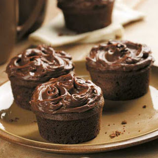 Cinnamon Mocha Cupcakes.