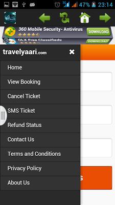 Bus Ticket Booking - screenshot
