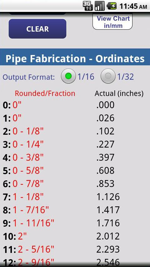 Lateral Pipe Calculator- screenshot
