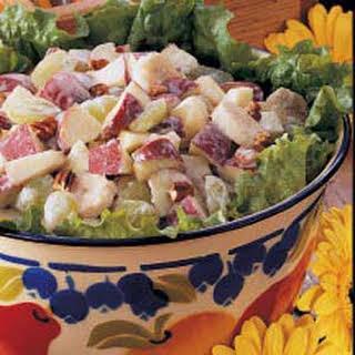 Creamy Fruit Salad.