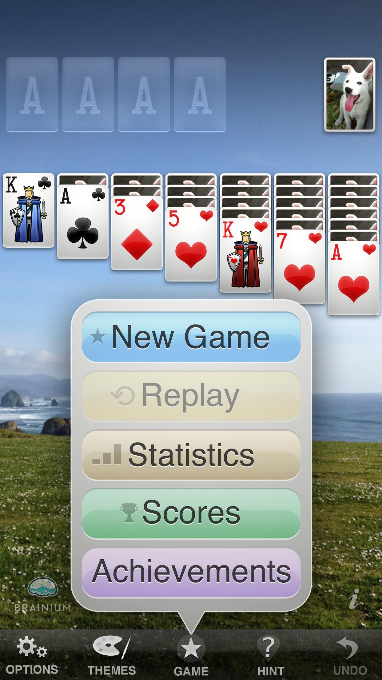 Solitaire screenshot #2