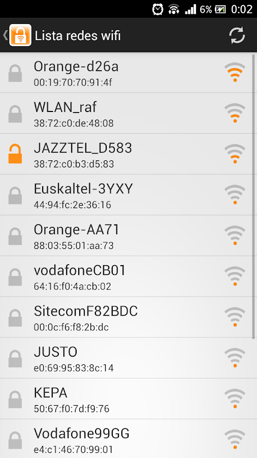 how to get wifi pass from android
