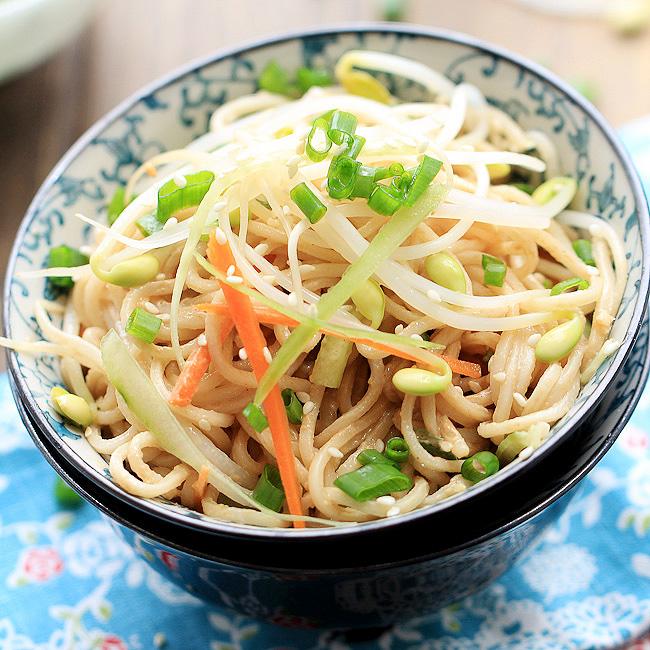 Sesame Cold Noodles Recipe