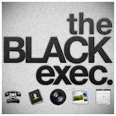 BLACK Exec GO Launcher EX