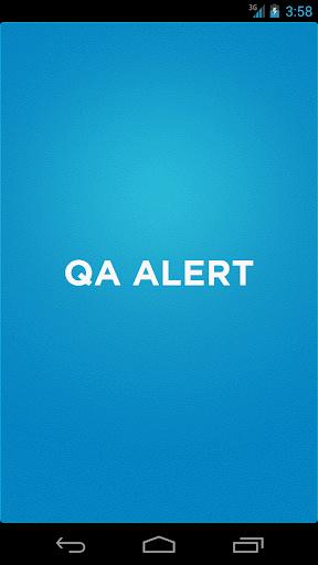 QA Alert App