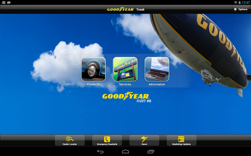 Goodyear Truck for Tablets