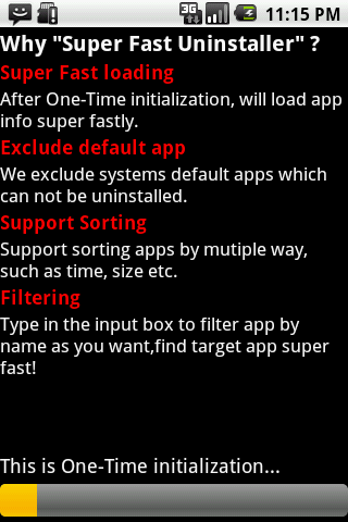 Super Fast Uninstaller - screenshot