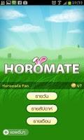 Screenshot of Horoscope Horomate