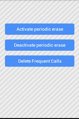 Frequently called delete Free- screenshot