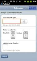 Screenshot of Pago de recibos