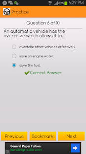 Final Theory Test Learner (SG)- screenshot thumbnail