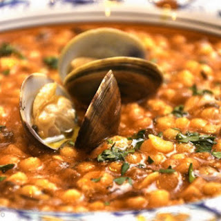 Fregola con arselle (Sardinian Couscous with Baby Clams).