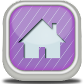 Pastel Purple Go Launcher