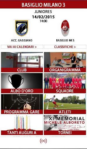 Basiglio Milano 3 Calcio