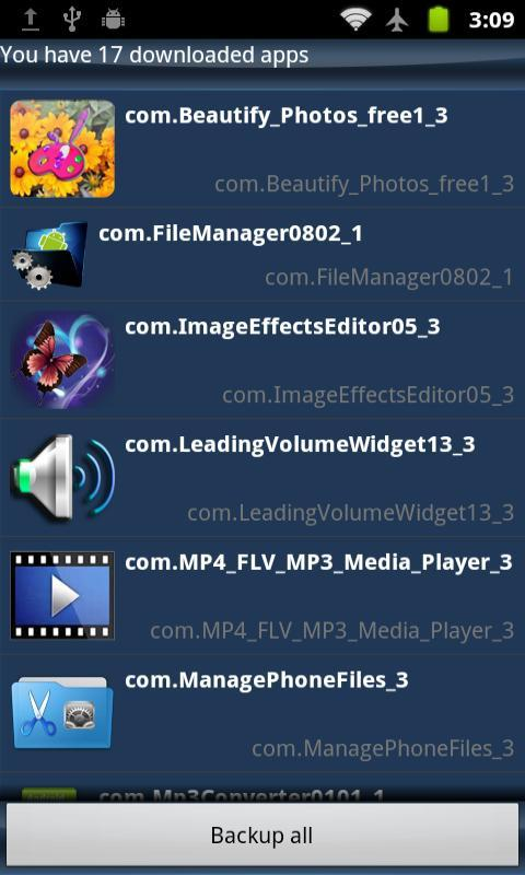 Manage Phone Files - screenshot