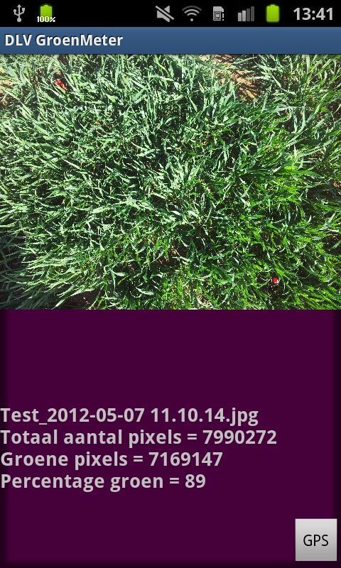 GroenMeter- screenshot