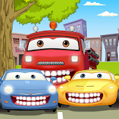 Car Wash Teeth Dentist Game