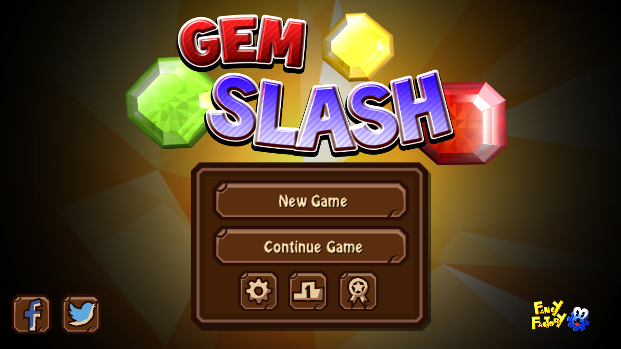Gem Slash - best Match 3 Physics Puzzle Game Play!- screenshot