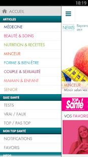 Top Santé - screenshot thumbnail