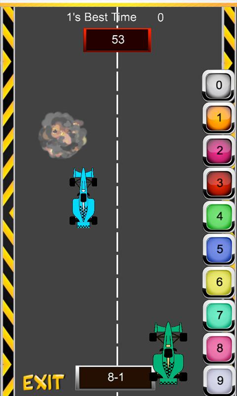 Math Racer - Subtraction- screenshot