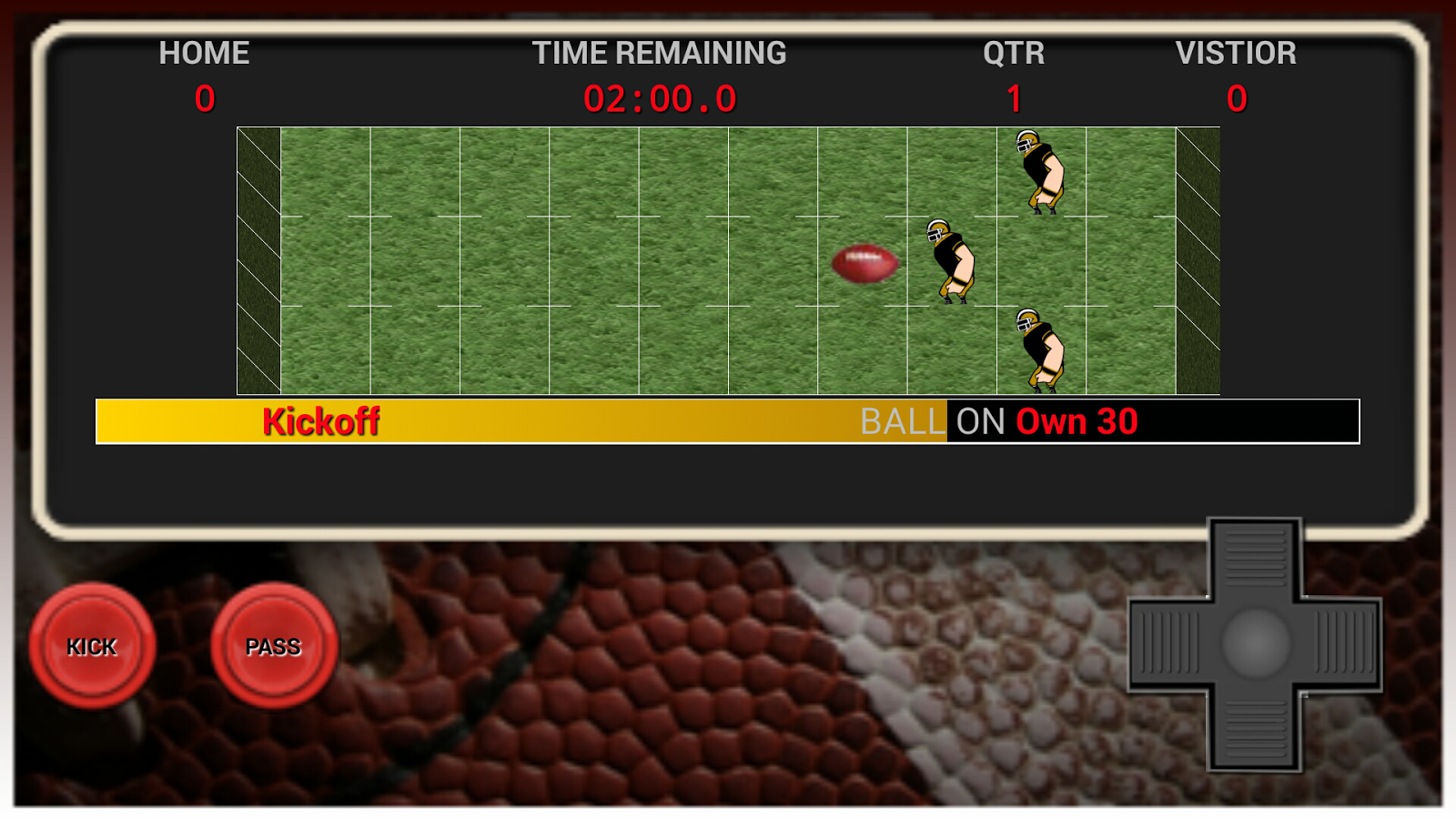 Football Game- screenshot