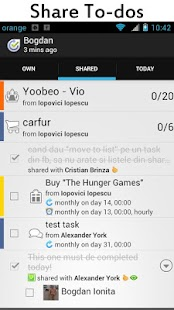 Yoobeo To do List & Task Share - screenshot thumbnail