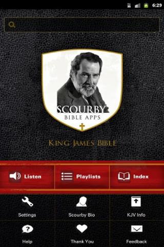 Scourby Bible Android Phone