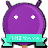CM12 Violet Pop Theme