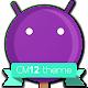 CM12 Violet Pop Theme v6.a