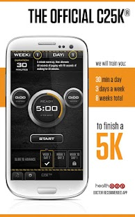 C25K®  - 5K Trainer Pro - screenshot thumbnail