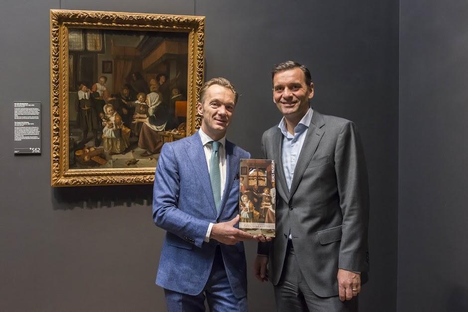 Sint Nicolaasfeest Rijksmuseum.Albert Heijn Partner Rijksmuseum Persberichten Pers