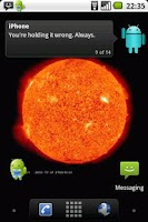 Screenshot of Sun Live Wallpaper Free