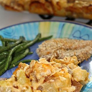 Health(ier) Cheesy Potato Casserole
