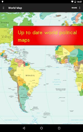 World Map Free