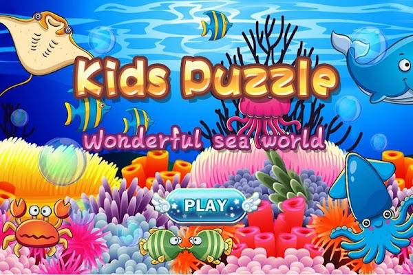 Kids' Puzzles - wonderful sea - screenshot