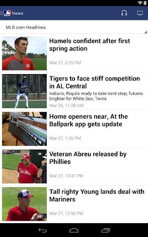 android MLB.com At Bat Screenshot 7