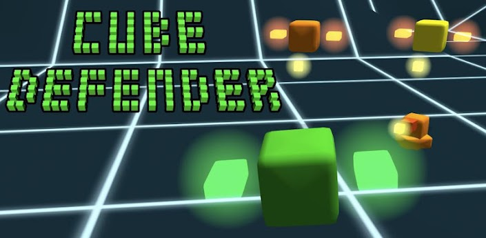 Cube Defender креативная игра для Андроид
