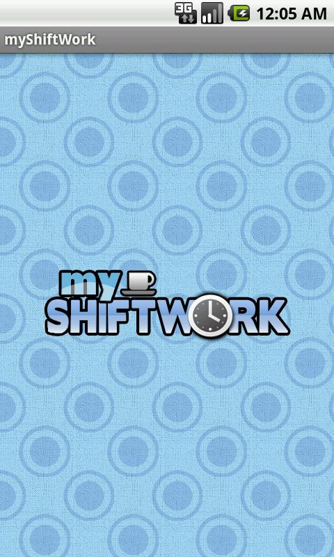 myShiftWork - screenshot
