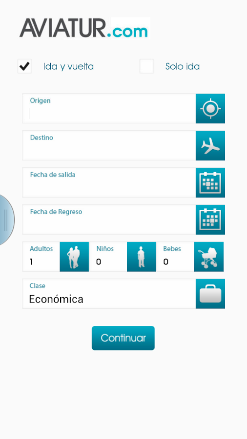 Aviatur Mobile - screenshot