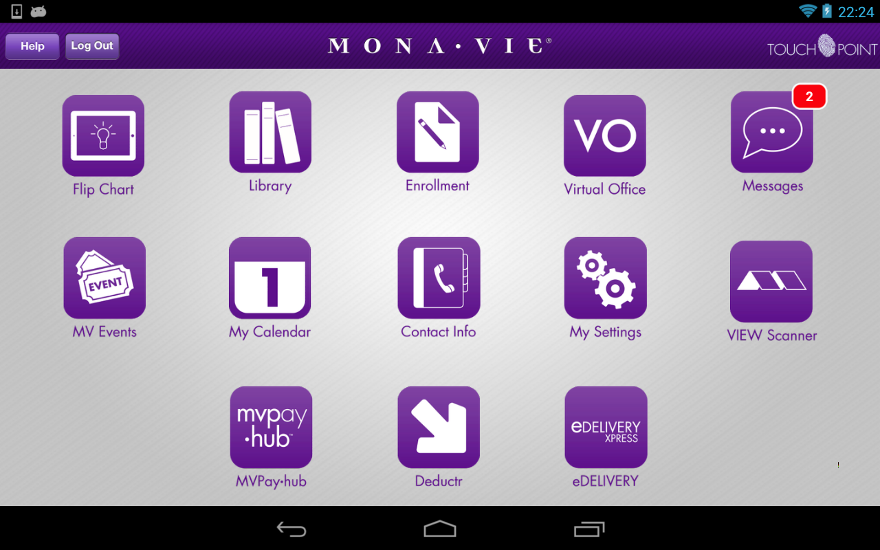 MonaVie TouchPoint - screenshot