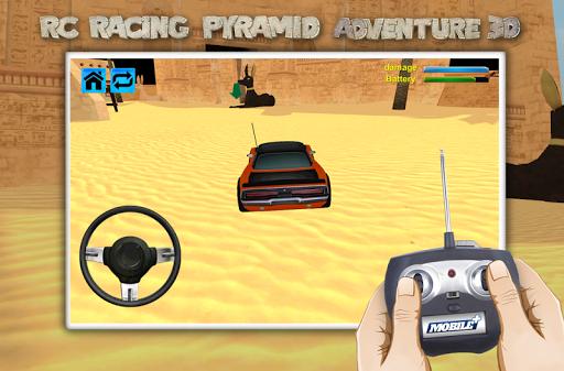 RC賽車金字塔冒險3D|玩賽車遊戲App免費|玩APPs