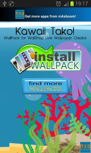 Kawaii Tako WallShop Pack