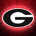 Georgia Bulldogs Clock Widget logo