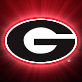Georgia Bulldogs Clock Widget