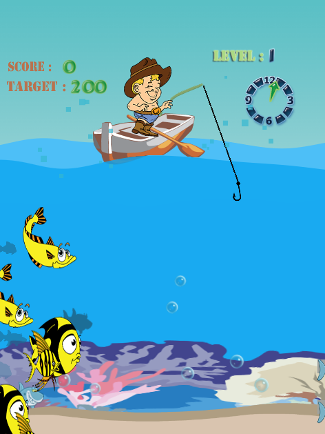 Shark fishing games free android apps on google play for Kids fishing game