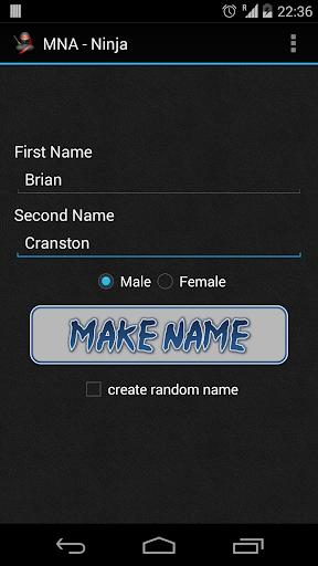 My Name As Ninja
