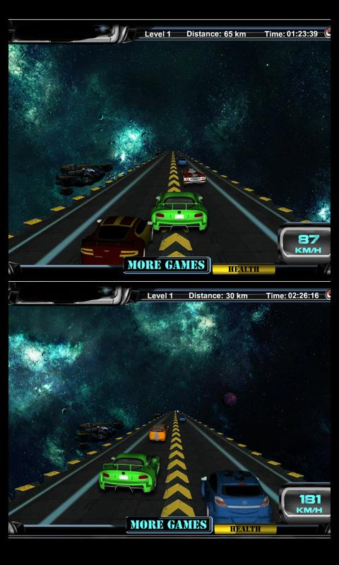 In Space 3D - screenshot
