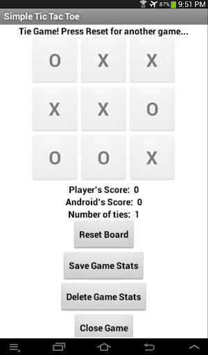 【免費休閒App】Crosses and Noughts 1 Player-APP點子