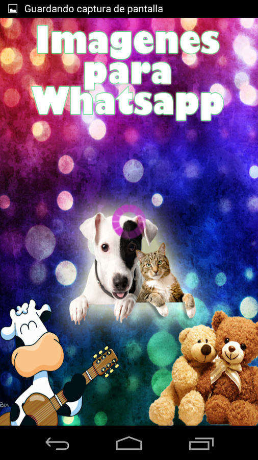 Screenshots of Imágenes para Whatsapp for Android