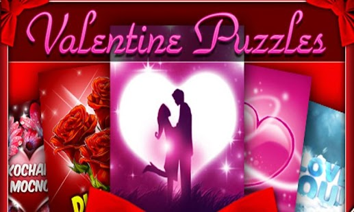 Valentine Puzzles - náhled